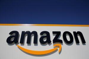 Logo of Amazon e-commerce company