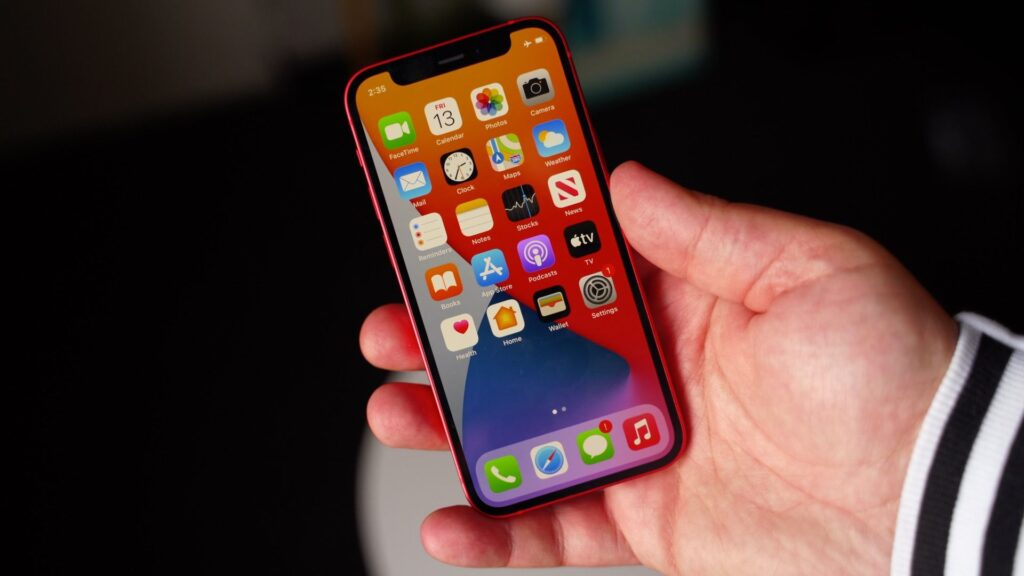iphone mini 12 front