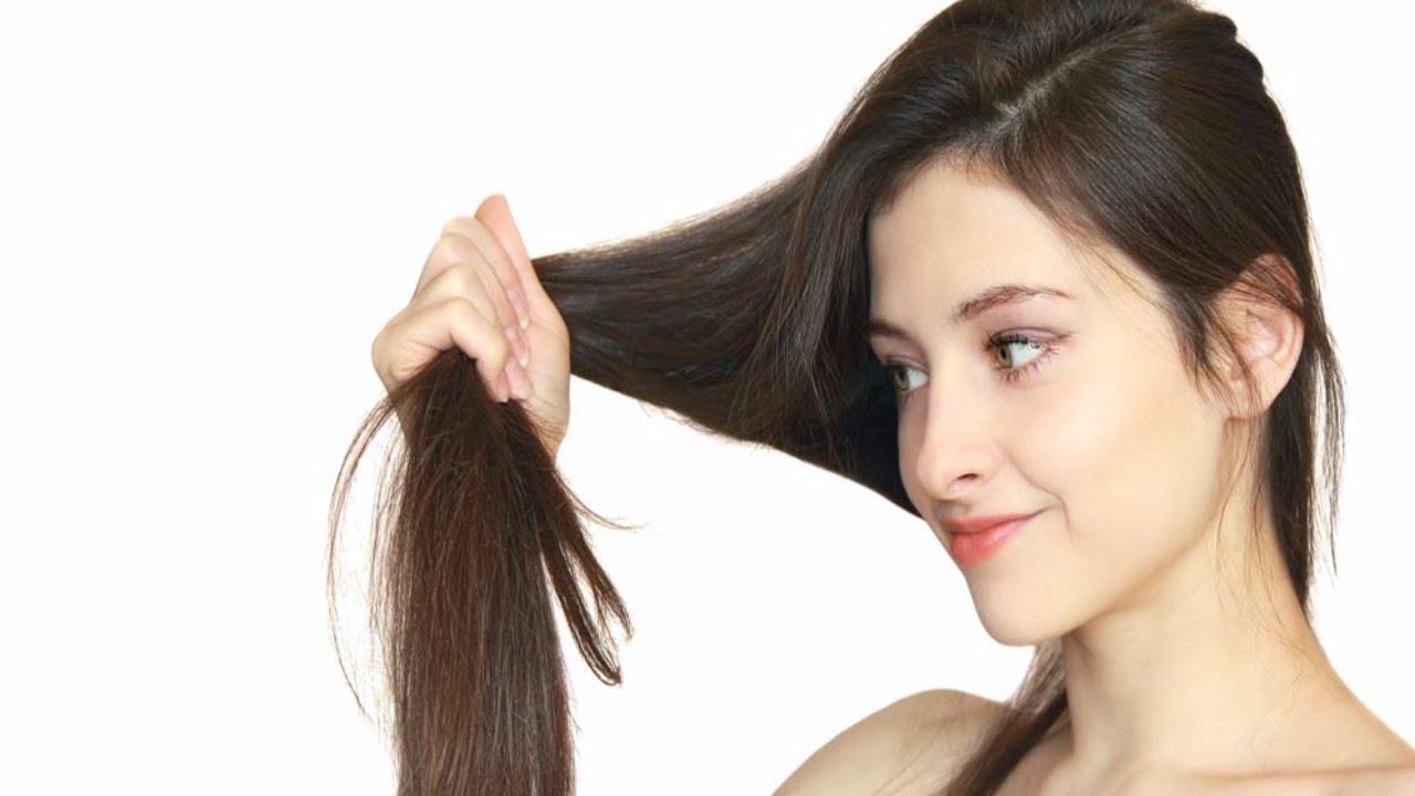 women hair caring